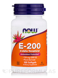 E-200 (d-alpha Tocopheryl) 100 Softgels