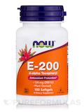 Natural E-200 (d-alpha Tocopheryl) - 100 Softgels