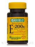 Natural Vitamin E-200 IU (Mixed Tocopherols) - 100 Softgels