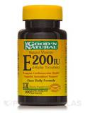 Natural Vitamin E-200 IU (d-alpha tocopheryl) 100 Softgels