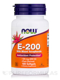 E-200 (Mixed Tocopherols) 100 Softgels