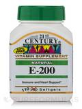 E-200 Natural - 110 Softgels