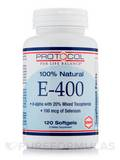 E-400 (100% Natural) 120 Softgels