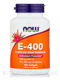 E-400 (d-Alpha with 20% Mixed Tocopherols, Selenium 100 mcg) 100 Softgels