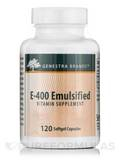 E-400 Emulsified - 120 Softgel Capsules