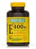 Natural Vitamin E-400 I.U. (Mixed Tocopherols) 250 Softgels