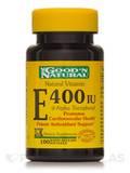 Natural Vitamin E-400 I.U. (d-alpha tocopheryl acetate) - 100 Softgels