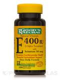 Natural Vitamin E-400 IU (d-alpha tocopheryl acetate) with Selenium 100 Softgels