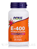 E-400 (Mixed Tocopherols) - 100 Softgels