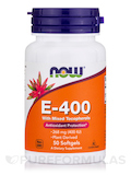 E-400 (Mixed Tocopherols) 50 Softgels