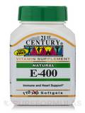 E-400 Natural 110 Softgels