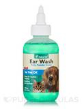 Ear wash w/Tea Tree Oil (Aloe & Baby Powder Scent) - 4 fl. oz (118 ml)