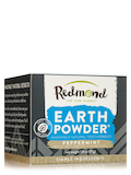 Earthpowder Peppermint with Charcoal Toothpowder - 1.8 oz (51 Grams)