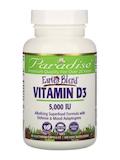 Earth's Blend® Vitamin D3 5,000 IU - 90 Vegetarian Capsules