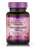 EarthSweet® Cellulcar Active® Methylcobalamin 1000 mcg, Raspberry Flavor - 60 Chewable Tablets