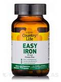Easy Iron 25 mg - 90 Vegetarian Capsules