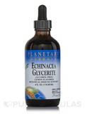Echinacea Glycerite Liquid Extract Lemon (Alcohol Free) 4 fl. oz (118.28 ml)