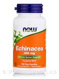 Echinacea 400 mg Purpurea Root 100 Capsules