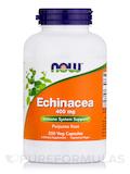 Echinacea 400 mg Purpurea Root - 250 Capsules