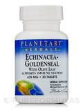 Echinacea Goldenseal with Olive Leaf 635 mg 30 Tablets