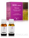 ECO. Aroma Relaxation Essential Oils (Sweet Orange + Lavender) - 2x 10 ml / 0.30 fl. oz
