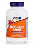 EcoGreen Multi Iron-Free 180 Vegetarian Capsules