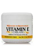 Vitamin E-Cream 6,000 IU - 2 oz (57 Grams)