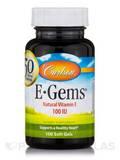 E-Gems® 100 IU - 100 Soft Gels