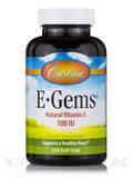 E-Gems 100 IU 250 Soft Gels