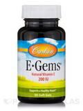 E-Gems® 200 IU - 90 Soft Gels