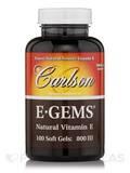 E-Gems 800 IU 100 Soft Gels