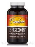 E-Gems® 800 IU - 250 Soft Gels