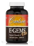 E-Gems Elite 1000 IU 120 Soft Gels