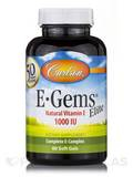 E-Gems® Elite 1000 IU - 60 Soft Gels