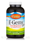 E-Gems Elite 400 IU 240 Soft Gels