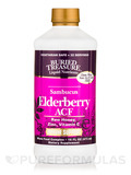 Elderberry ACF with Raw Honey, Zinc and Vitamin C - 16 fl. oz (473 ml)