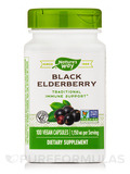 Black Elderberry 575 mg - 100 Vegetarian Capsules