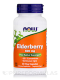 Elderberry Extract 500 mg 60 Vegetarian Capsules