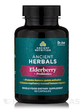 Elderberry + Probiotics - 60 Capsules