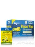 Electrolyte Stamina Power Pak with 1200 mg Vitamin C, Lemon Lime Effervescent Flavor - Box of 30 Pac