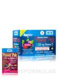 Electrolyte Stamina Power Pak NON-GMO Mixed Berry Flavor with 1200 mg Vitamin C - BOX OF 30 PACKETS