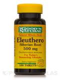 Eleuthero (Siberian Root) 500 mg 100 Tablets