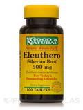 Eleuthero (Siberian Root) 500 mg - 100 Tablets