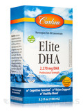 Elite DHA 2270 mg, Natural Orange Flavor - 3.3 fl. oz (100 ml)