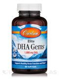 Elite DHA Gems® 1000 mg - 60 Soft Gels