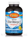 Elite Omega-3 Gems, Natural Lemon Flavor - 240 Soft Gels