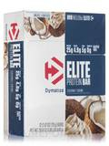 Elite Protein Bars, Coconut Crème Flavor - Box of 12 Bars (2.47 oz / 70 Grams each)