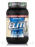 Elite Whey Protein All-Natural Gourmet Vanilla 2 lbs (916 Grams)