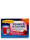 Emergen-C Vitamin D & Calcium Mixed Berry 30 Packets