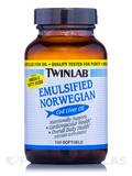 Emulsified Norwegian Cod Liver Oil 100 Softgels